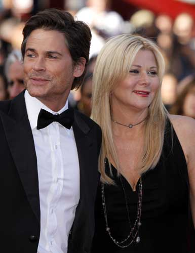 Actor Rob Lowe and his wife Sheryl arrive for the screening of The Tree of Life at the 64th international film festival, in Cannes, southern France, Monday, May 16, 2011.  <span class=meta>(AP Photo&#47;Joel Ryan)</span>
